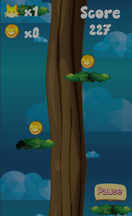 Kitty Cat Climber- screenshot