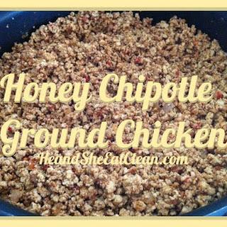 Honey Chipotle Ground Chicken