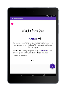 Vocabulary Builder: Word a Day = Better English- screenshot thumbnail