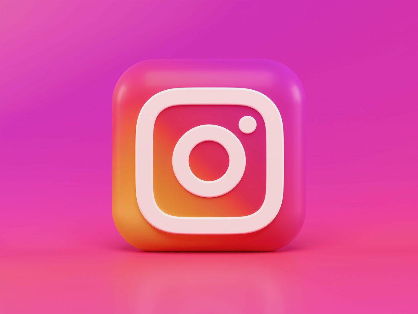 3D instagram icon