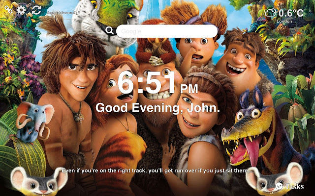 The Croods 2 Wallpapers New Tab