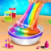 Fluffy Slime Maker DIY Rainbow Fun