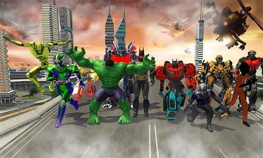 Clash of Superheroes Tribe - náhled