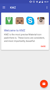 KMZ - The Material Icon Pack - screenshot thumbnail