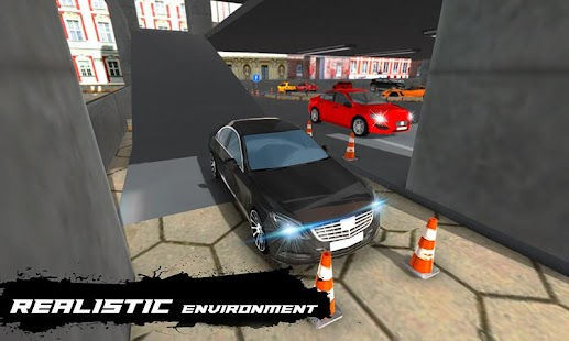 Multilevel Parking Adventure: Sports Car Simulator - náhled