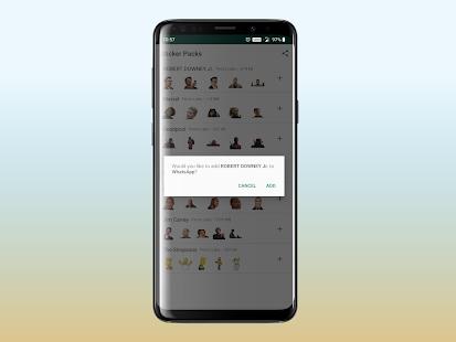 WhatsApp samolepky ke stažení zdarma - náhled