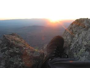 Photo: Big Bend - sunrise, New Year morning