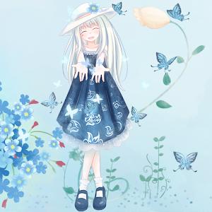 Dream Flowers Girl