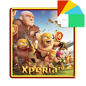 Clash Of Clans Xperia™ Theme