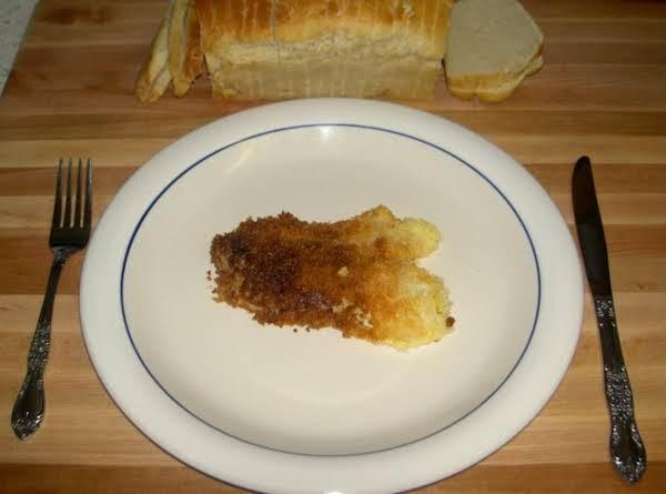 Parmesan Panko Crusted Tilapia Recipe
