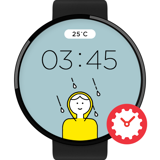 WeatherCaster watchface by Farrell