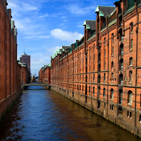 Speicherstadt by Grzegorz Gluchy - Buildings & Architecture Public & Historical ( hamburg city river water )