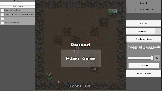 Productive Game - Roguelike (Unreleased)- screenshot thumbnail