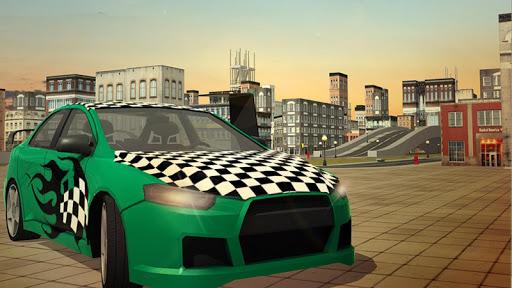 Free Flying Racing Car Driving 1.1 screenshots 4