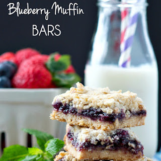 Mom's Shortcut Blueberry Muffin Bars.