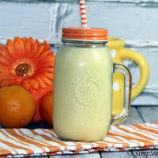 Dairy Queen Copycat Orange Julius   Fruit Smoothie Replica.