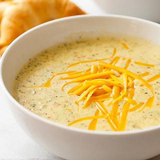 Copycat Panera Bread™ Broccoli Cheddar Soup Recipe