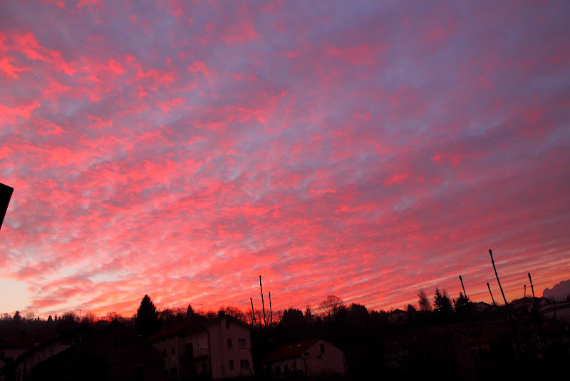 rosso di sera bel tempo si spera di Isikku