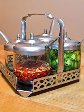 Photo: condiment set for the table