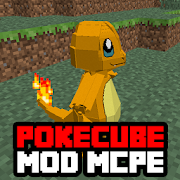 Download Full PokeCube Mod for Minecraft PE 1.0 APK
