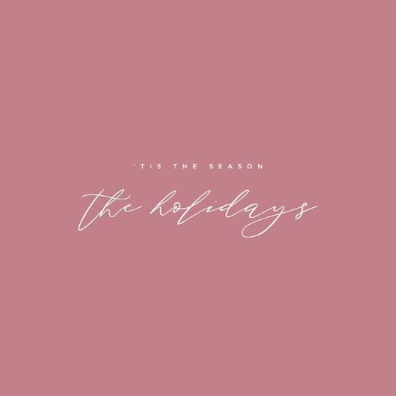 The Holidays - Christmas Template