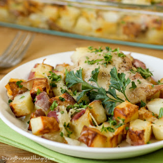 Chicken Potato Bake.