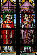 Photo: Saint Augustin d'Hippone et saint Albert (chapelle N-D de Tongre)