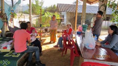 Photo: Mae Ai home care visit
