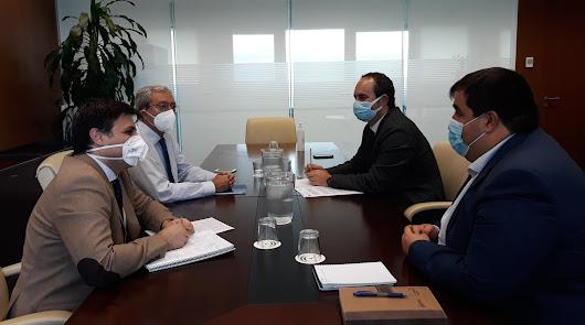 Amérigo pide apoyo a la Junta para un Plan Director de Desarrollo de Carboneras