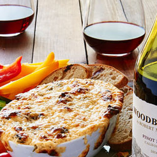 Pinot Noir Three Cheese Dip.