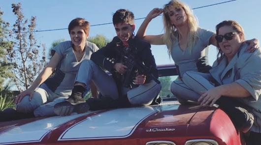 Imagen en Agua Amarga del rodaje de \'Vis a Vis: El Oasis\'.