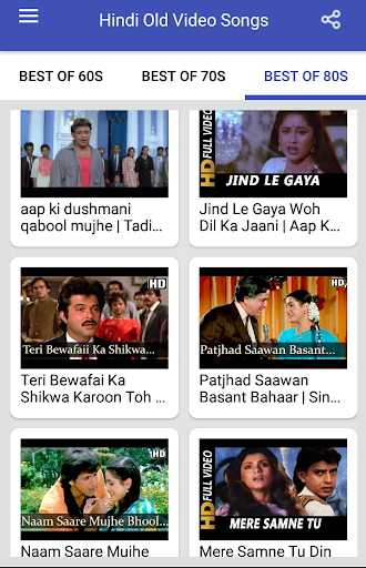 Hindi Old Songs Video Sadabahar Old Songs Apk Download Apkpure Co