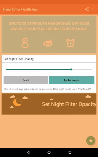 Night Shift: Blue Light Filter  screenshots 6
