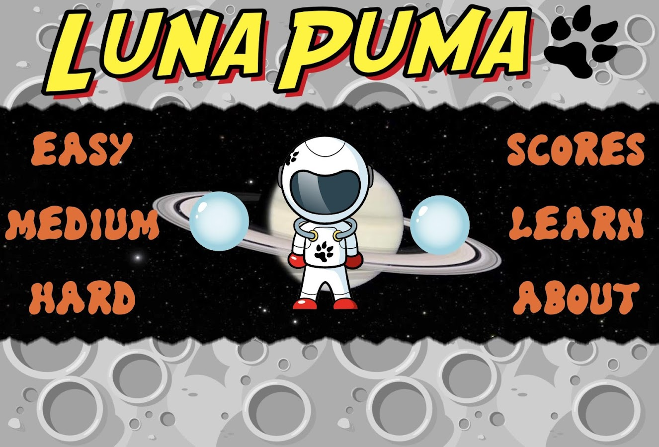 Luna Puma- screenshot