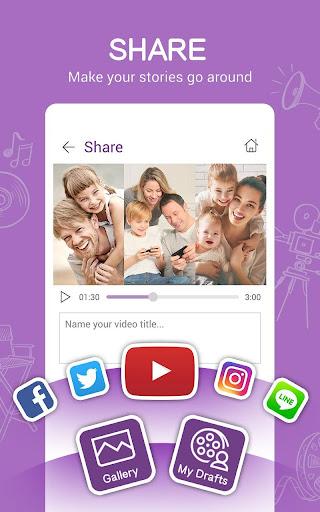 MiniMovie-Slideshow Video Edit screenshot 7