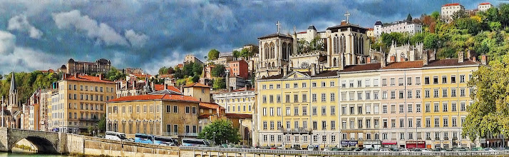Photo: Old town in Lyon