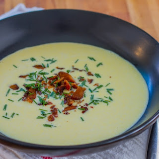 Sous Vide Sweet Corn Soup