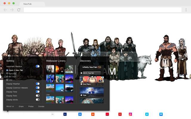 Bran Stark Top HD TV Shows New Tabs Theme