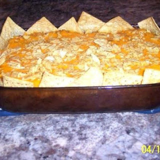 Layered Mexican Casserole.