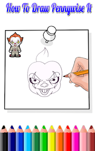 How To Draw Pennywise IT(Pennywise IT Drawing) - náhled