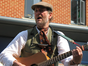 Photo: Winston the Singing Farmer (yes, for real) at the Dereham Festival.
