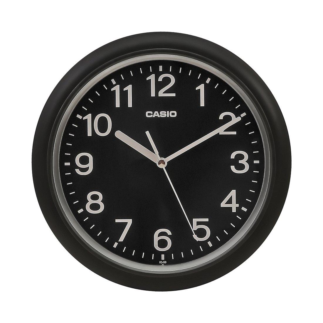 Casio IQ-59-1BDF Analog Wall Clock