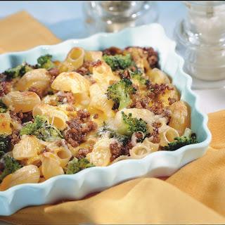 Hackfleisch-Broccoli-Auflauf mit Curry
