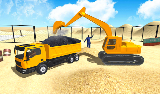 Real City Road Construction 3D filehippodl screenshot 4