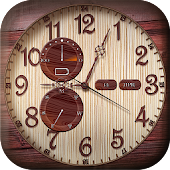 Live Analog Clock Widget