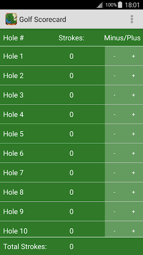 玩免費運動APP|下載Golf Scorecard Free app不用錢|硬是要APP