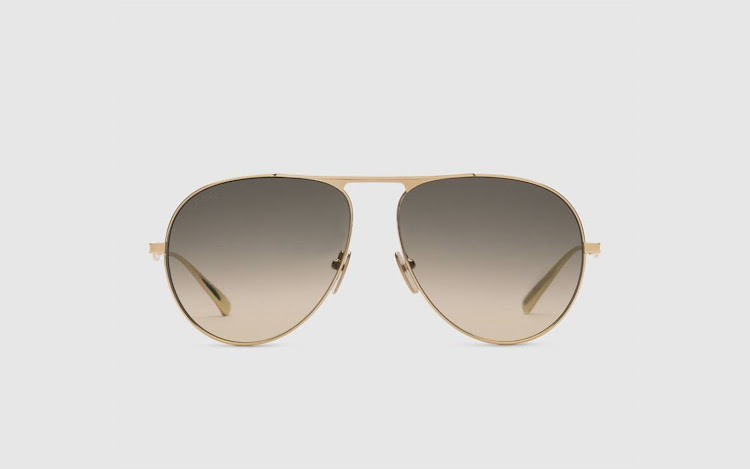 Aviator sunglasses, Gucci.