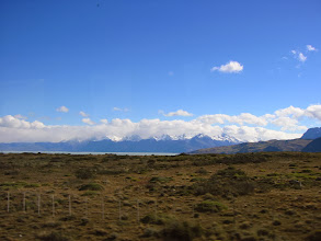 Photo: Lago Argentino and beyond