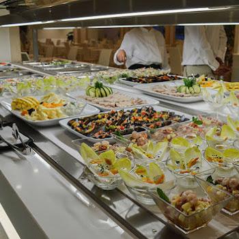 buffet de restaurant sur place