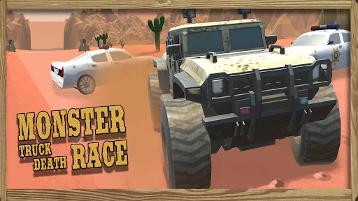 Monster Truck Death Race  captures d'u00e9cran 2